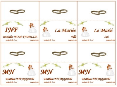 Mod Les Gratuits De Menus Et De Cartons De Table